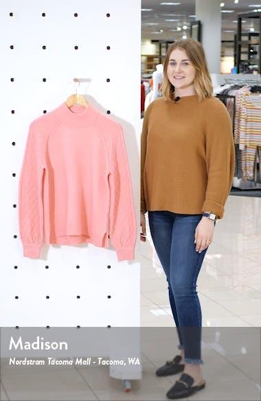 Mix Stitch Turtleneck Sweater, sales video thumbnail