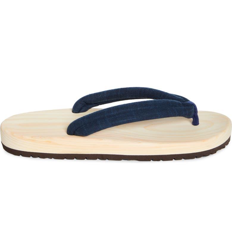 BEAMS JAPAN Geta Sandal, Main, color, 410