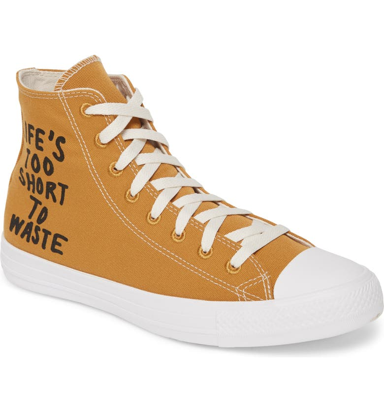 CONVERSE Chuck Taylor<sup>®</sup> All Star<sup>®</sup> Renew High Top Sneaker, Main, color, WHEAT
