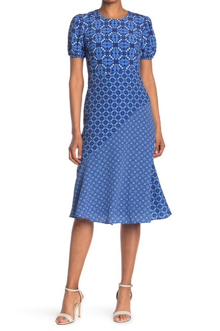 Image of Donna Morgan Jewel Neck Bias Slip Dress