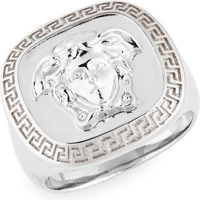 Versace Square Medusa Ring