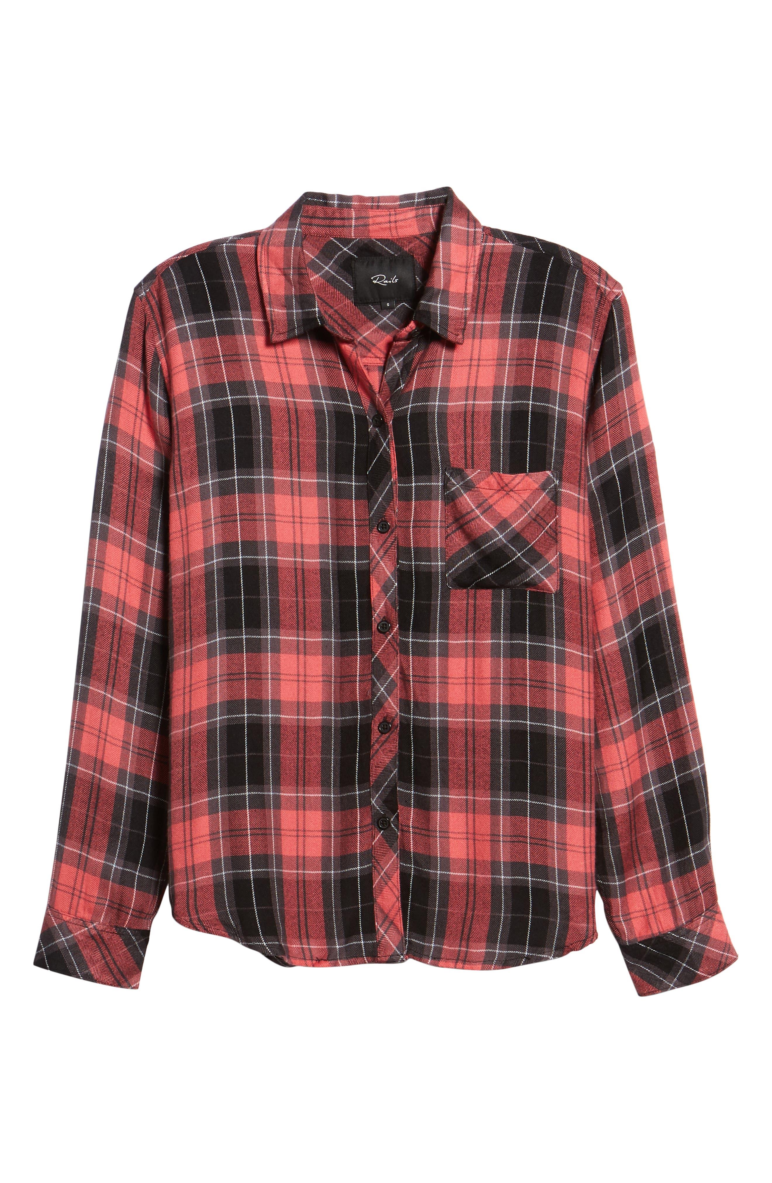 ,                             Hunter Plaid Shirt,                             Alternate thumbnail 173, color,                             601