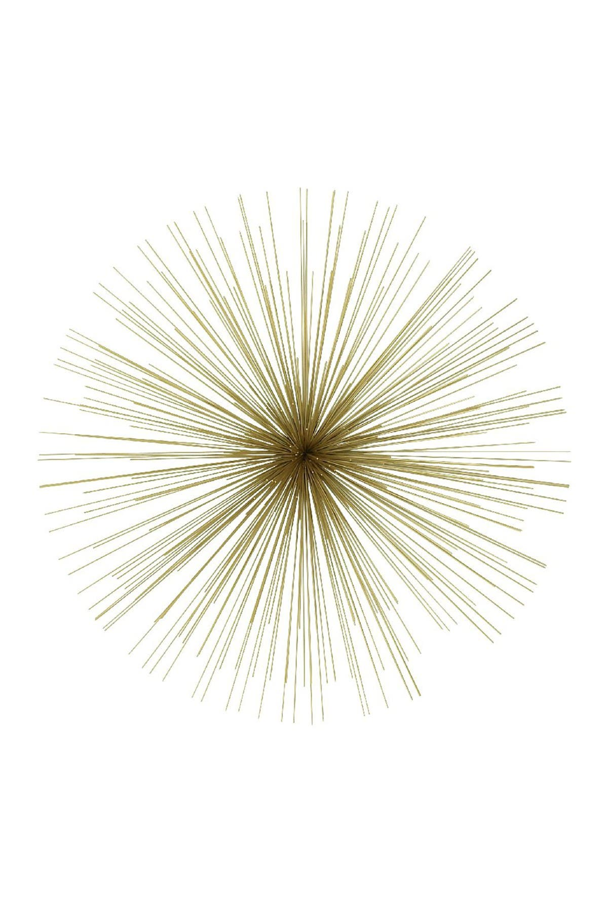 Image of Willow Row Gold Contemporary Starburst Wall Decor