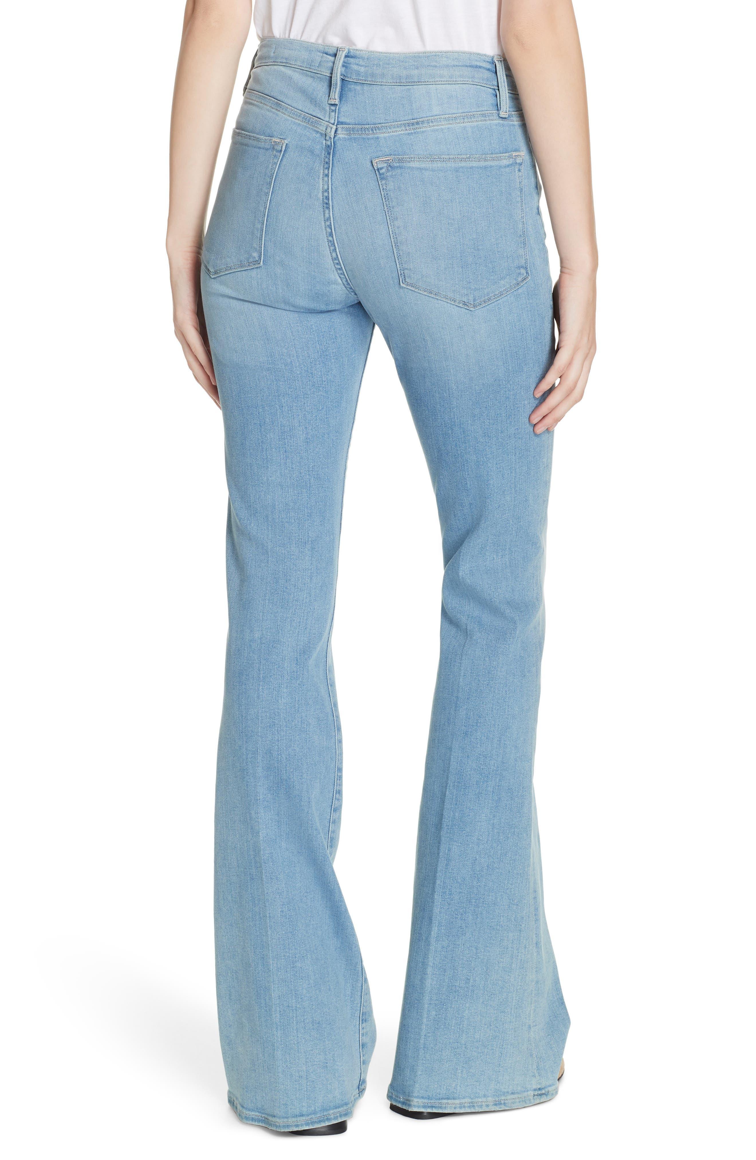 ,                             Le High Flare Jeans,                             Alternate thumbnail 9, color,                             450