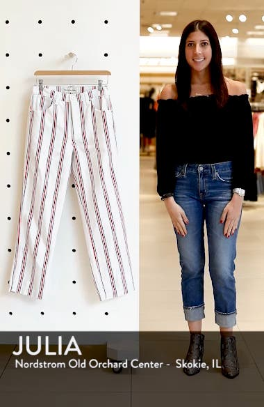 Roper Crop Straight Leg Jeans, sales video thumbnail