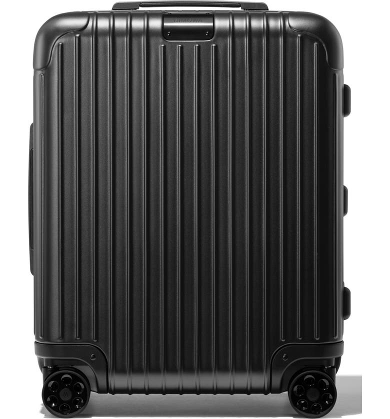 RIMOWA Essential Cabin Plus 22-Inch Packing Case, Main, color, MATTE BLACK