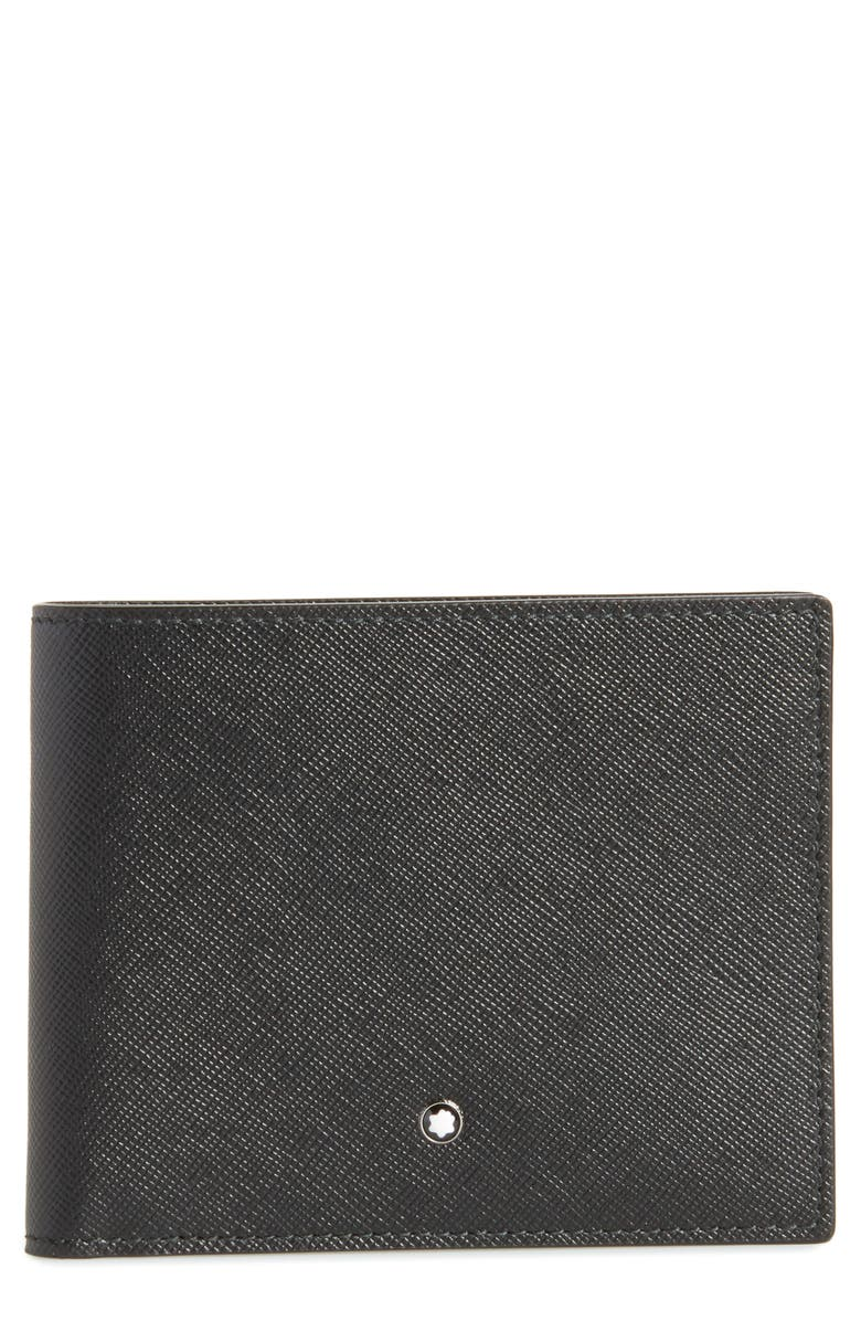 MONTBLANC Sartorial Leather Bifold Wallet, Main, color, 001