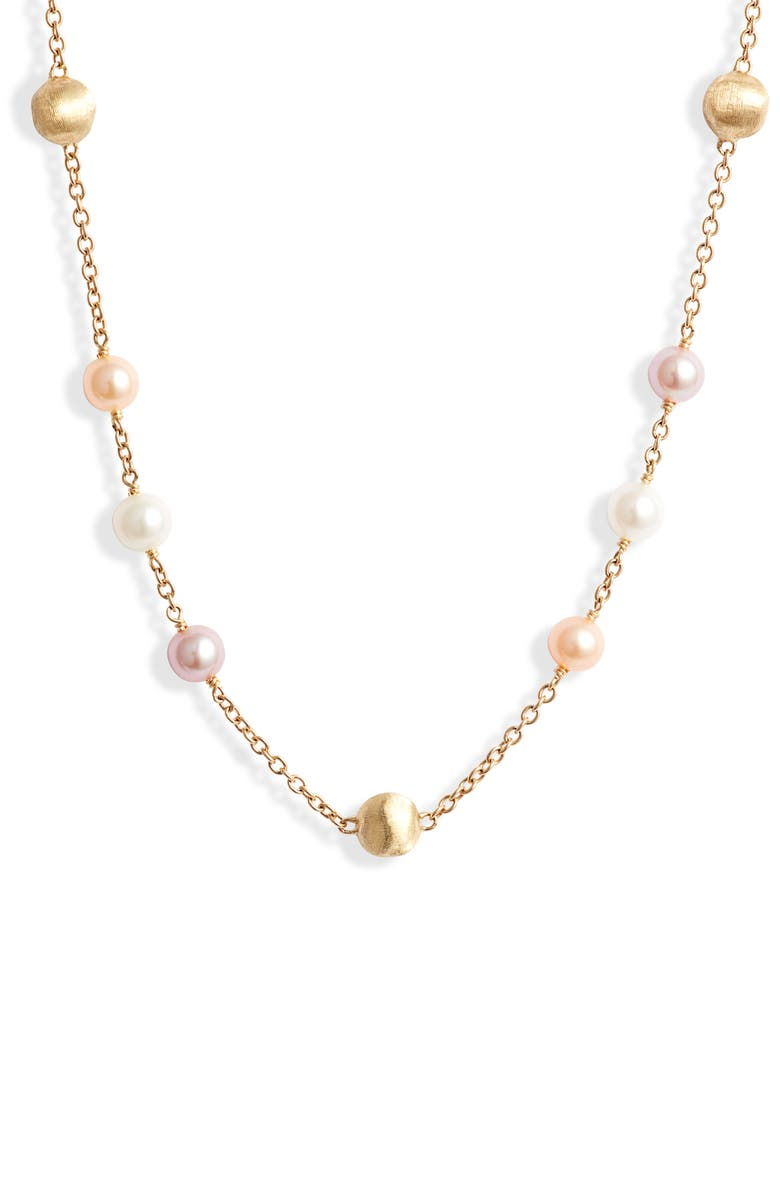 MARCO BICEGO Africa Pearl Necklace, Main, color, 710