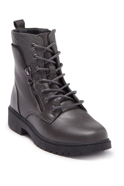 Image of Wanted Mission Lace-Up Combat Boot