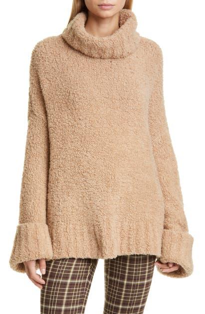 Adam Lippes Sweaters MERINO WOOL & CASHMERE BLEND TEDDY BEAR SWEATER