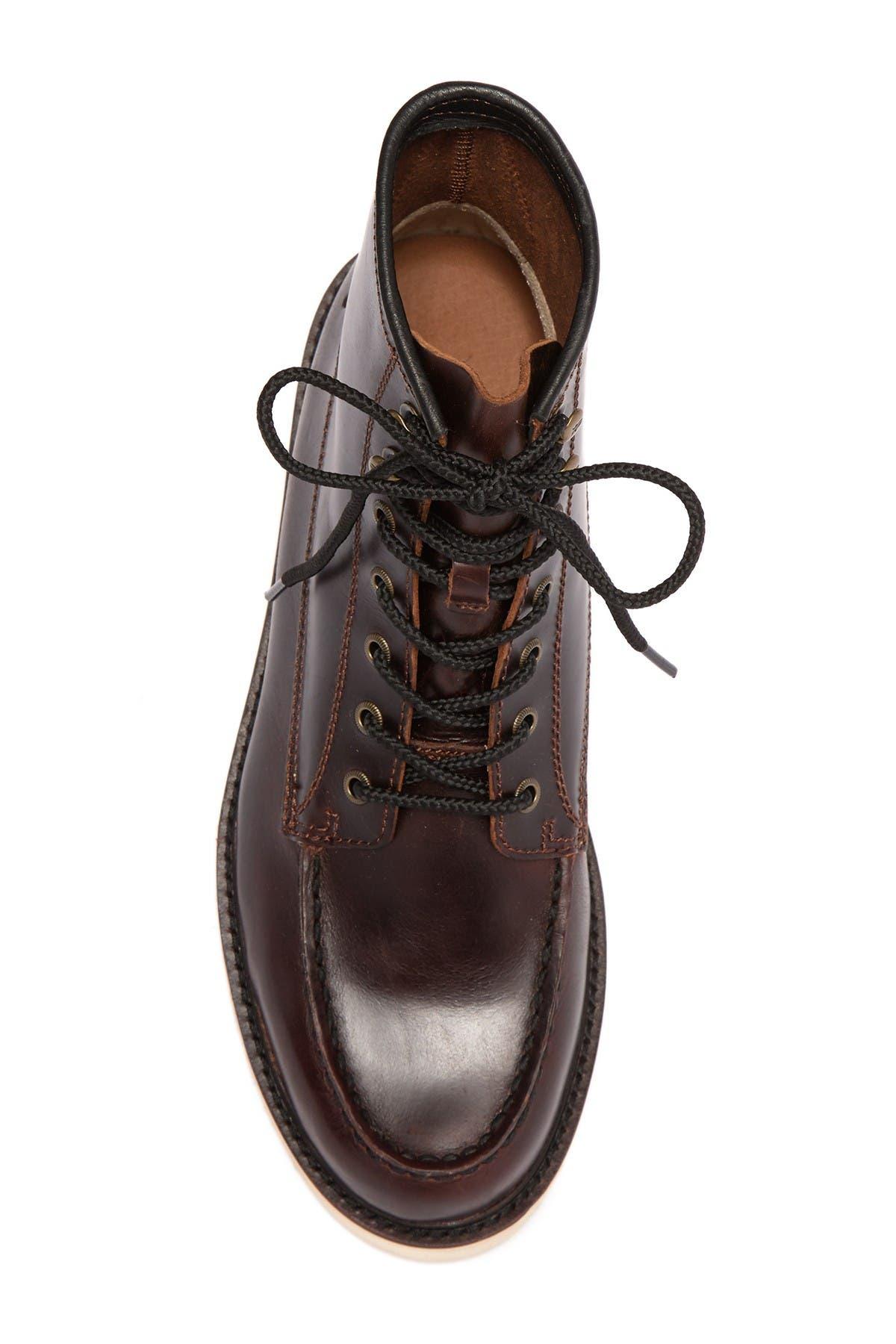 Frye | Dawson Leather Wedge Workboot