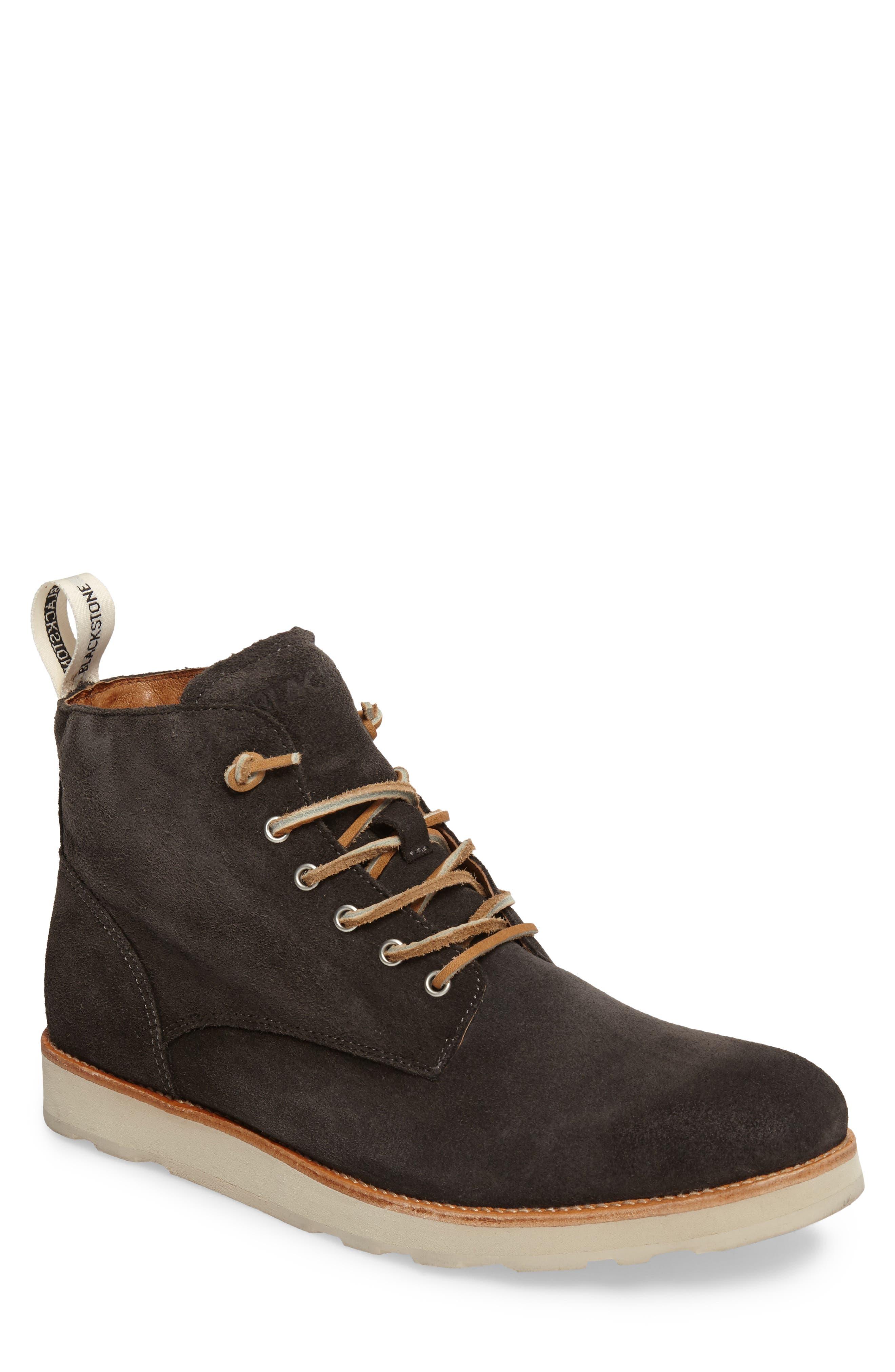 Blackstone Om 53 Plain Toe Boot - Blue