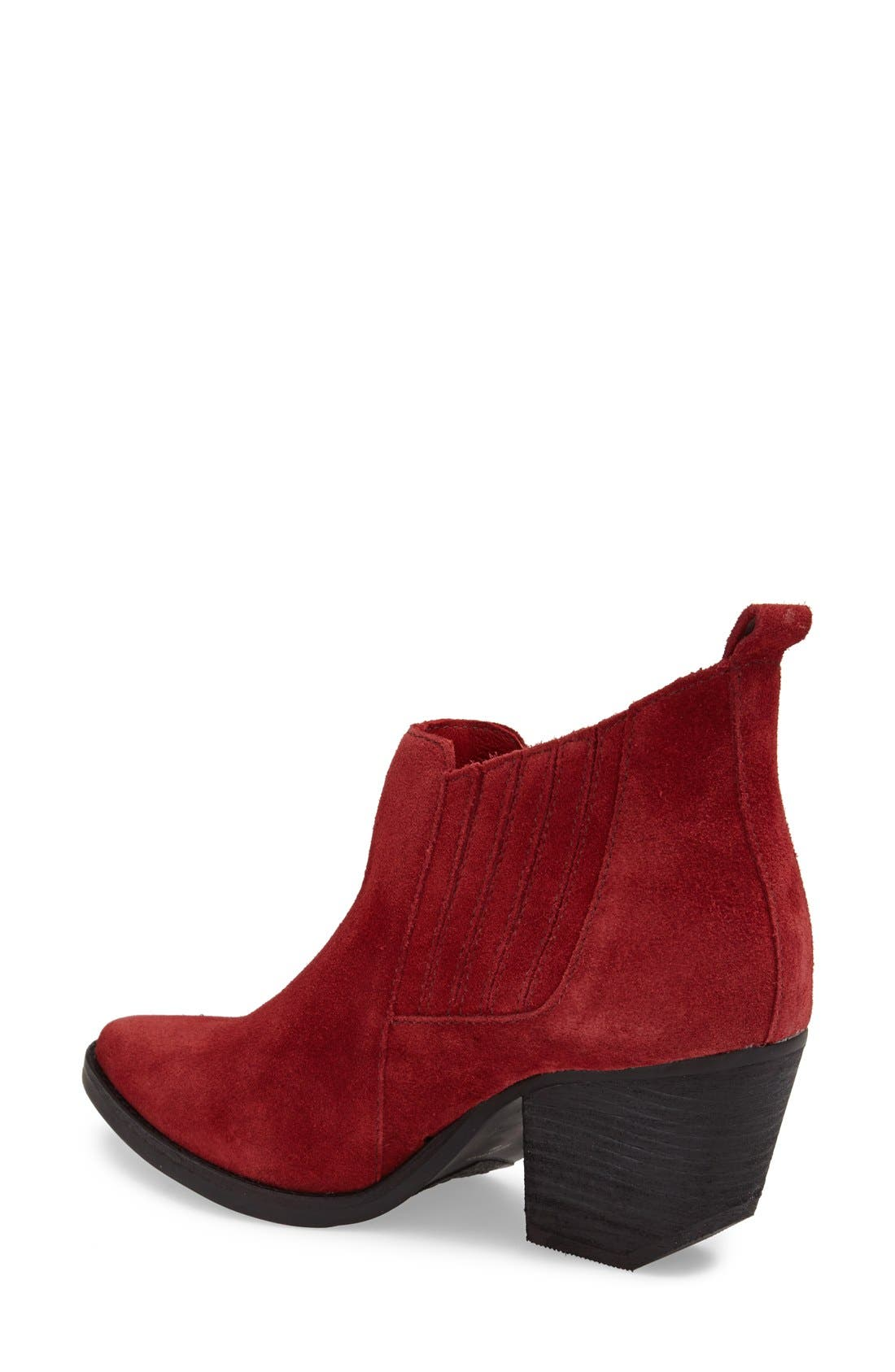 ,                             'Eve' Suede Bootie,                             Alternate thumbnail 11, color,                             604