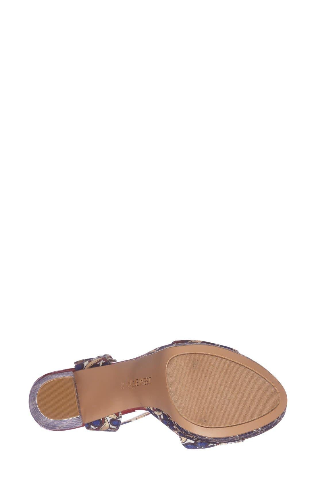 ,                             'Carnation' Platform Sandal,                             Alternate thumbnail 19, color,                             400