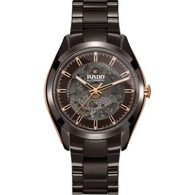 Rado Hyperchrome Exhibition Automatic Ceramic Bracelet Watch, 42Mm