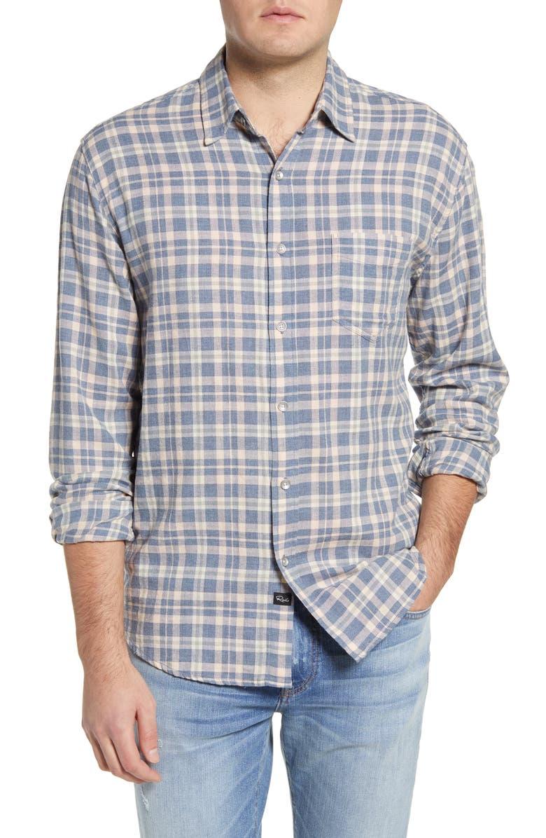 RAILS Wyatt Plaid Button-Up Shirt, Main, color, 100