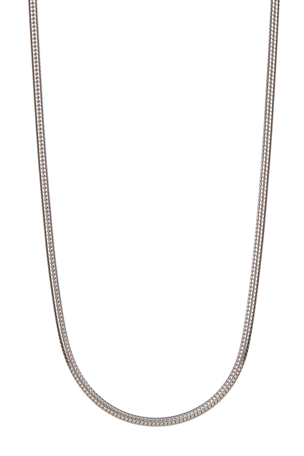 Image of BREUNING Sterling Silver Snake Chain