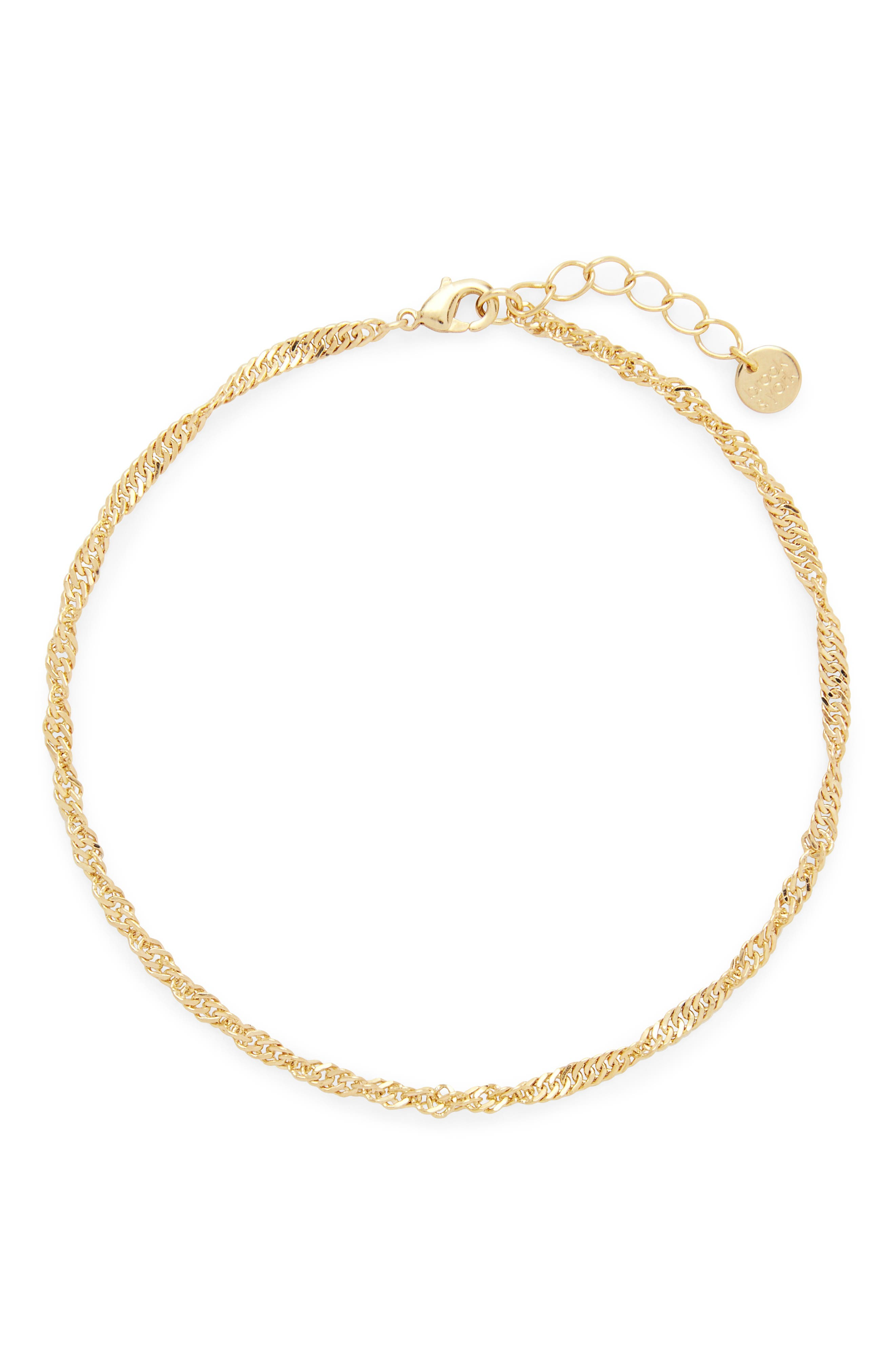 Sophie Curb Chain Anklet