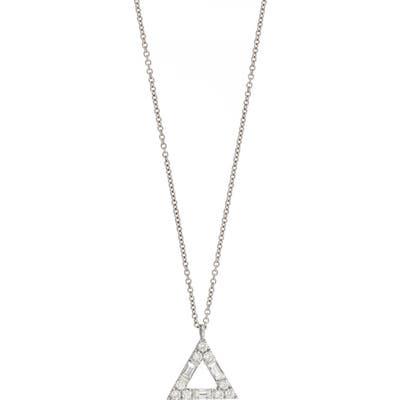 Bony Levy Gatsby Diamond Triangle Pendant Necklace (Nordstrom Exclusive)