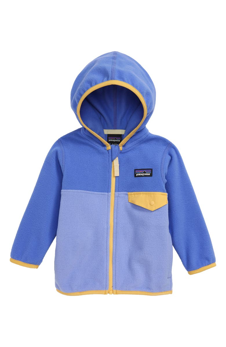 PATAGONIA Micro D<sup>®</sup> Snap-T<sup>®</sup> Fleece Jacket, Main, color, LVBL LIGHT VIOLET BLUE