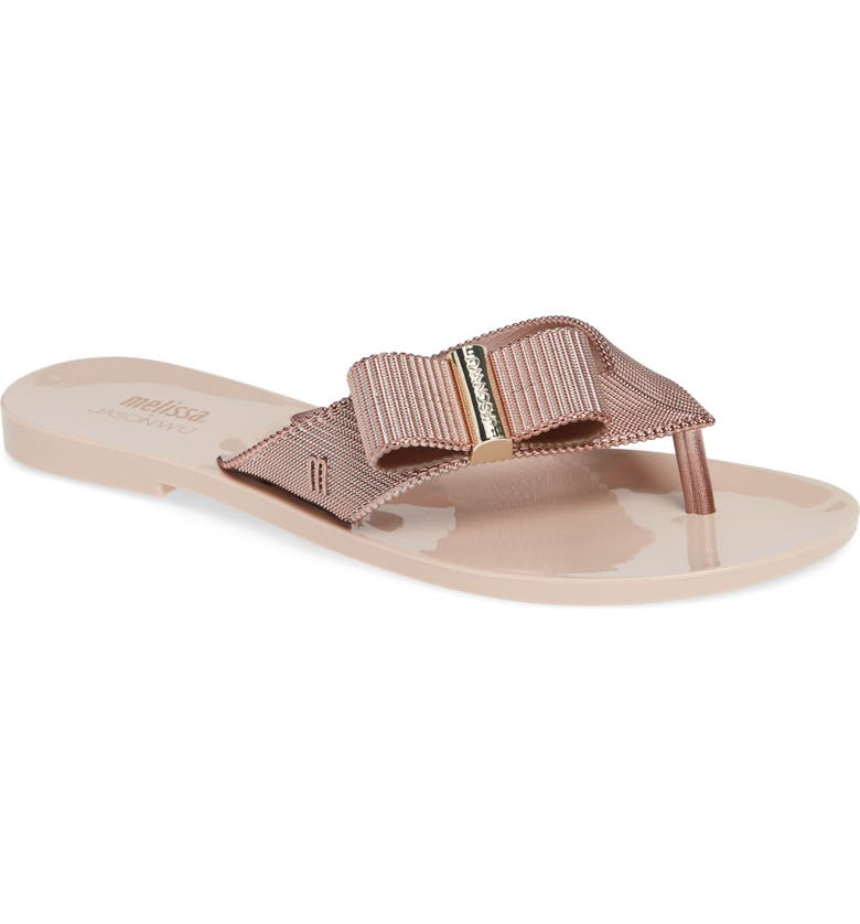 MELISSA + Jason Wu Girl Chrome Flip Flop, Main, color, 668