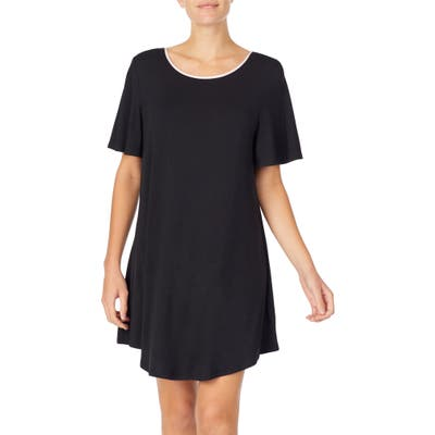 Kate Spade New York Jersey Sleep Shirt, Black
