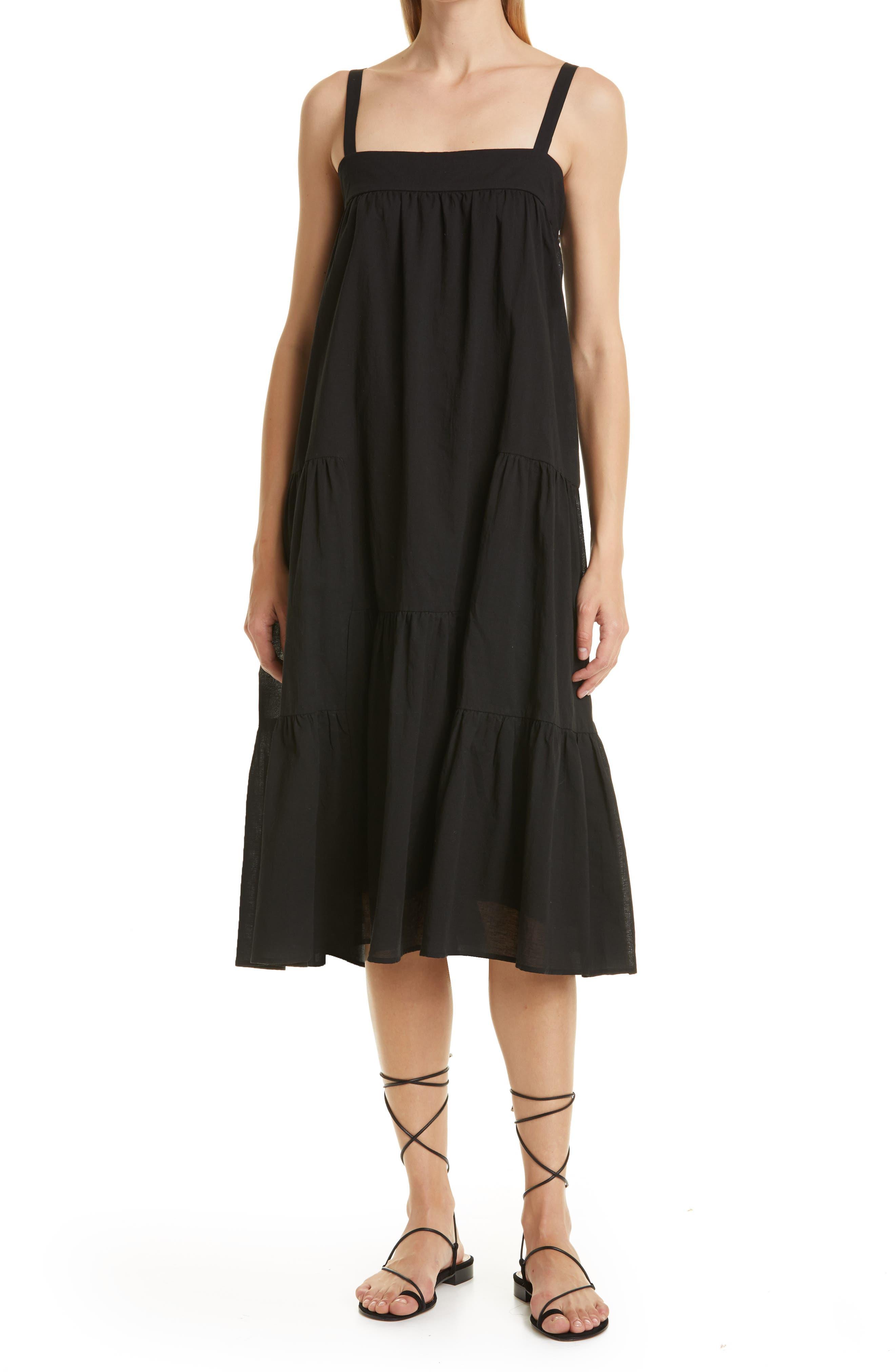 Summer Linen & Cotton Sundress