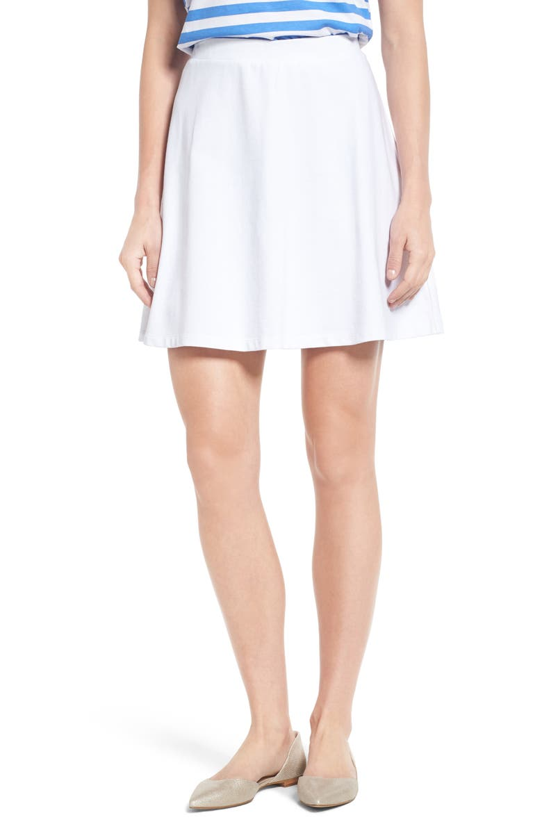 DRAPER JAMES Knit Miniskirt, Main, color, 130