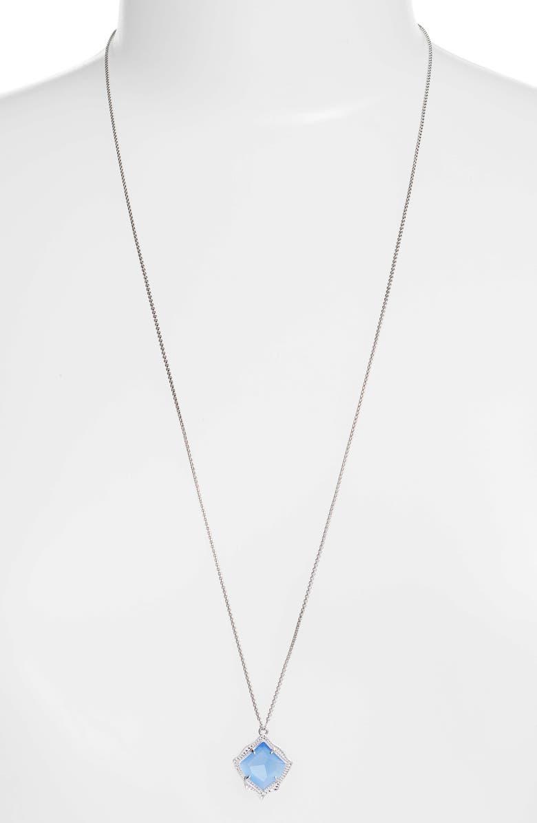 KENDRA SCOTT Kacey Pendant Necklace, Main, color, 040