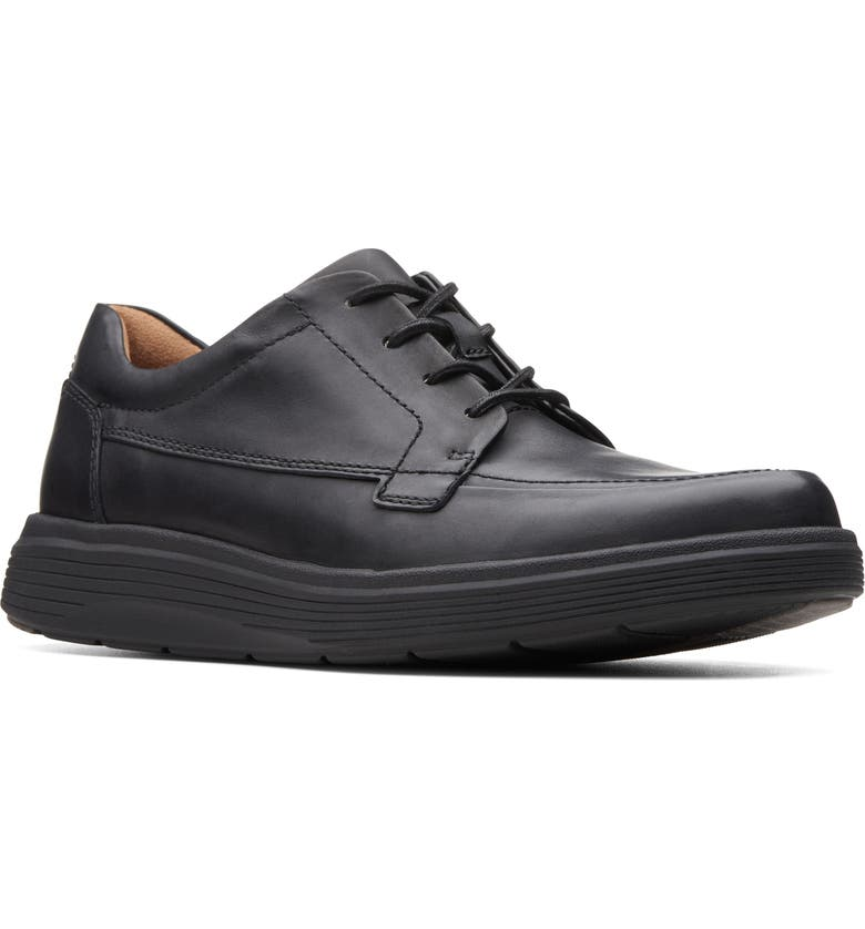 CLARKS<SUP>®</SUP> In Abode Ease Sneaker, Main, color, BLACK LEATHER