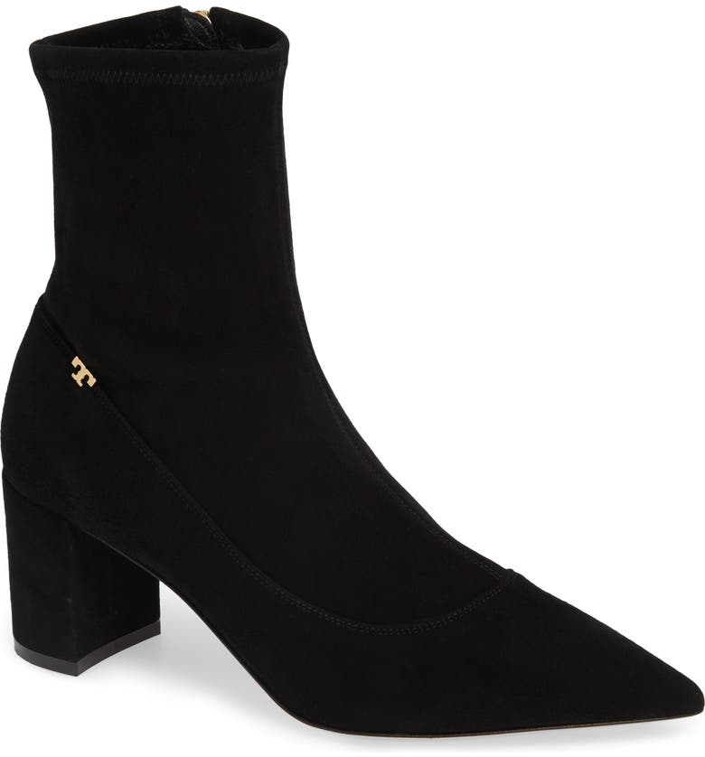 TORY BURCH Penelope Pointy Toe Bootie, Main, color, 004
