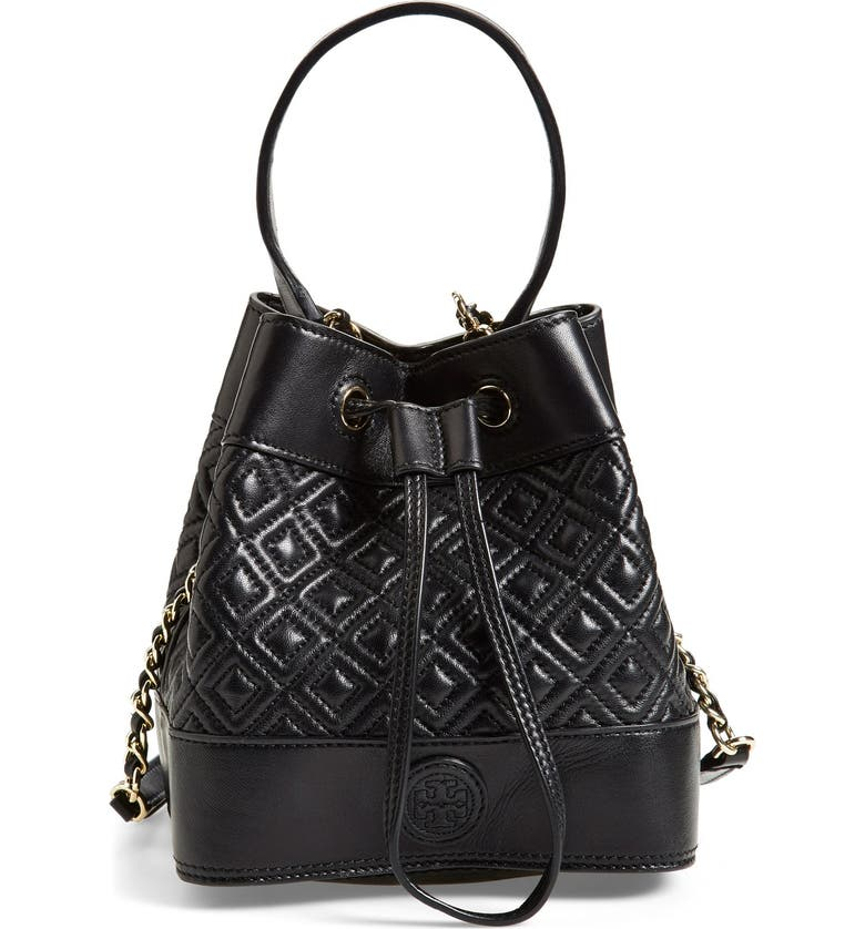 377125f9785 Tory Burch 'Mini Marion' Quilted Lambskin Bucket Bag | Nordstrom
