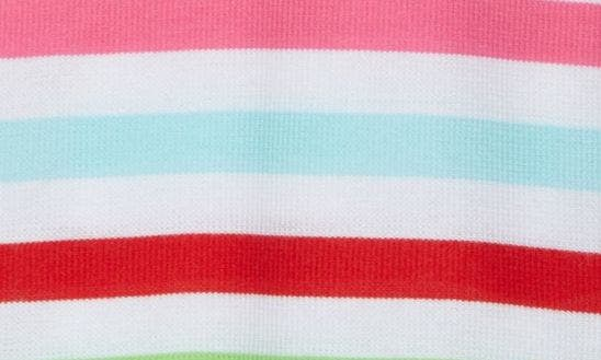 RED CHINOISE MULTI STRIPE