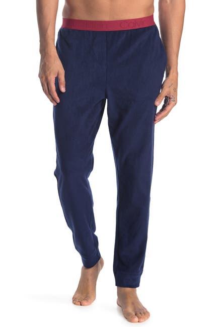 Image of Calvin Klein Contrast Waist Sleep Pants