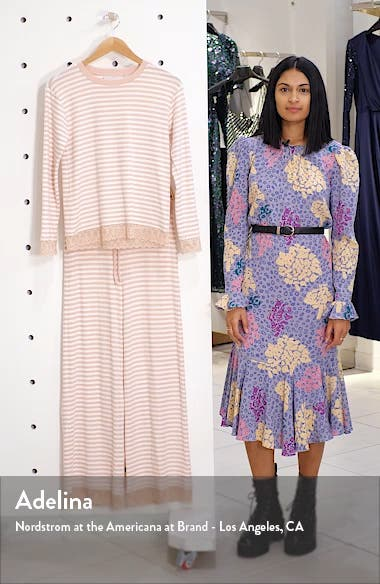 Lace Trim Pajamas, sales video thumbnail