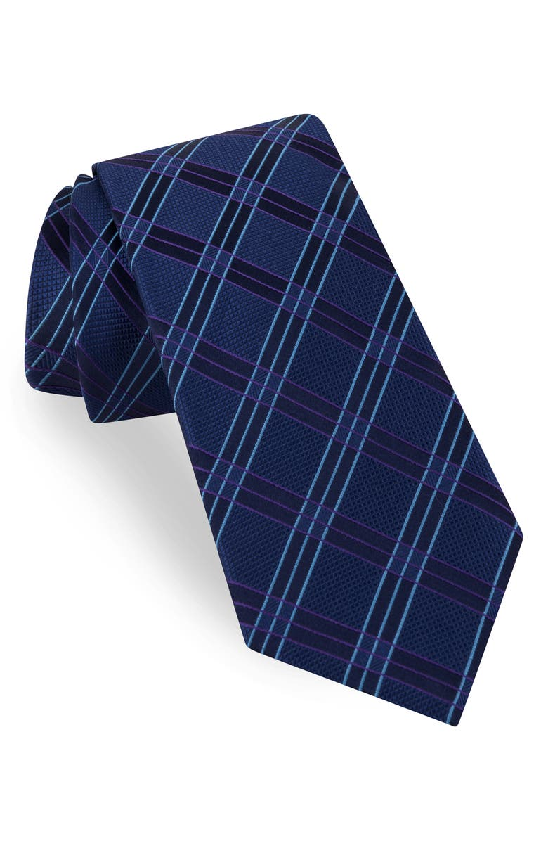 Ted Baker London Windowpane Silk Tie