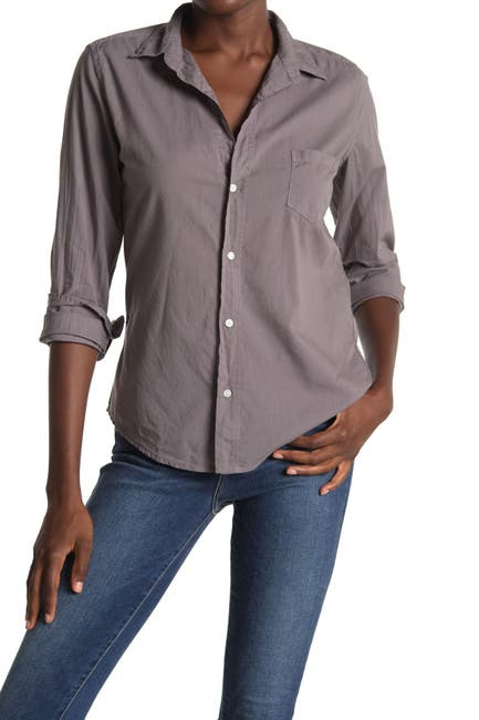 Image of FRANK & EILEEN Barry Woven Collared Shirt