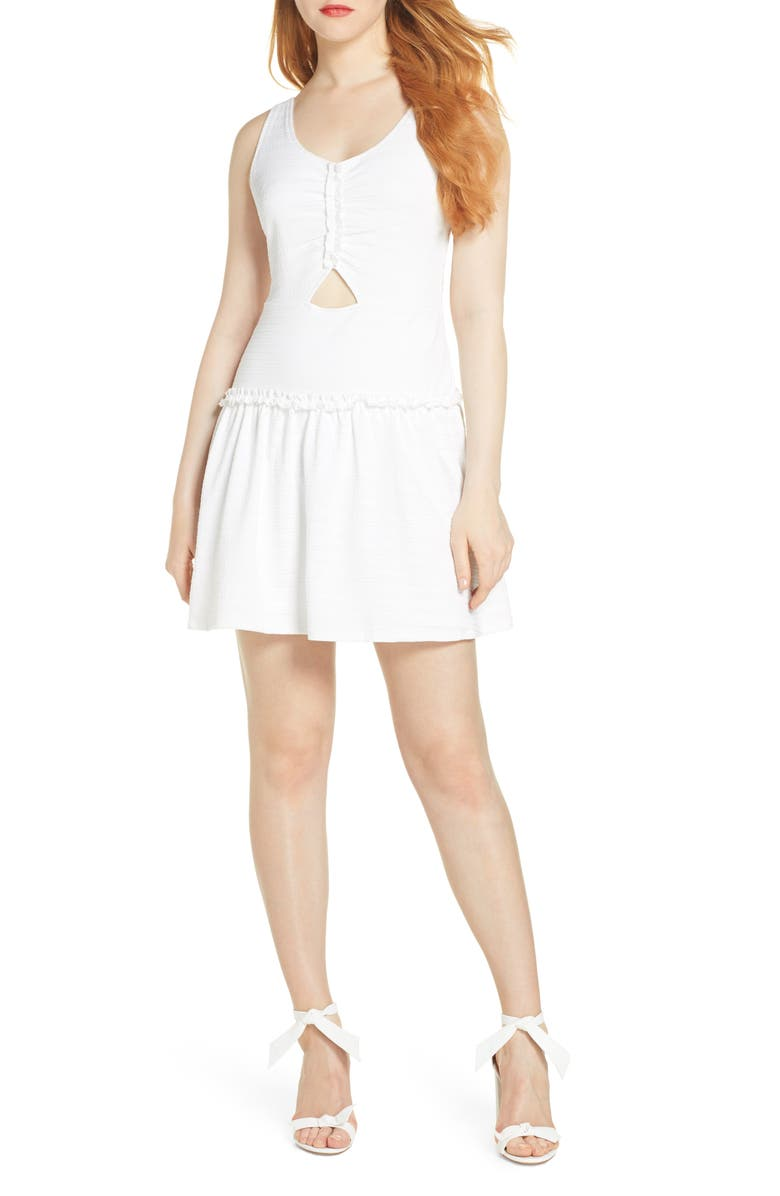 ALI & JAY x Dress Up Buttercup Old Town Strollin Minidress, Main, color, 100