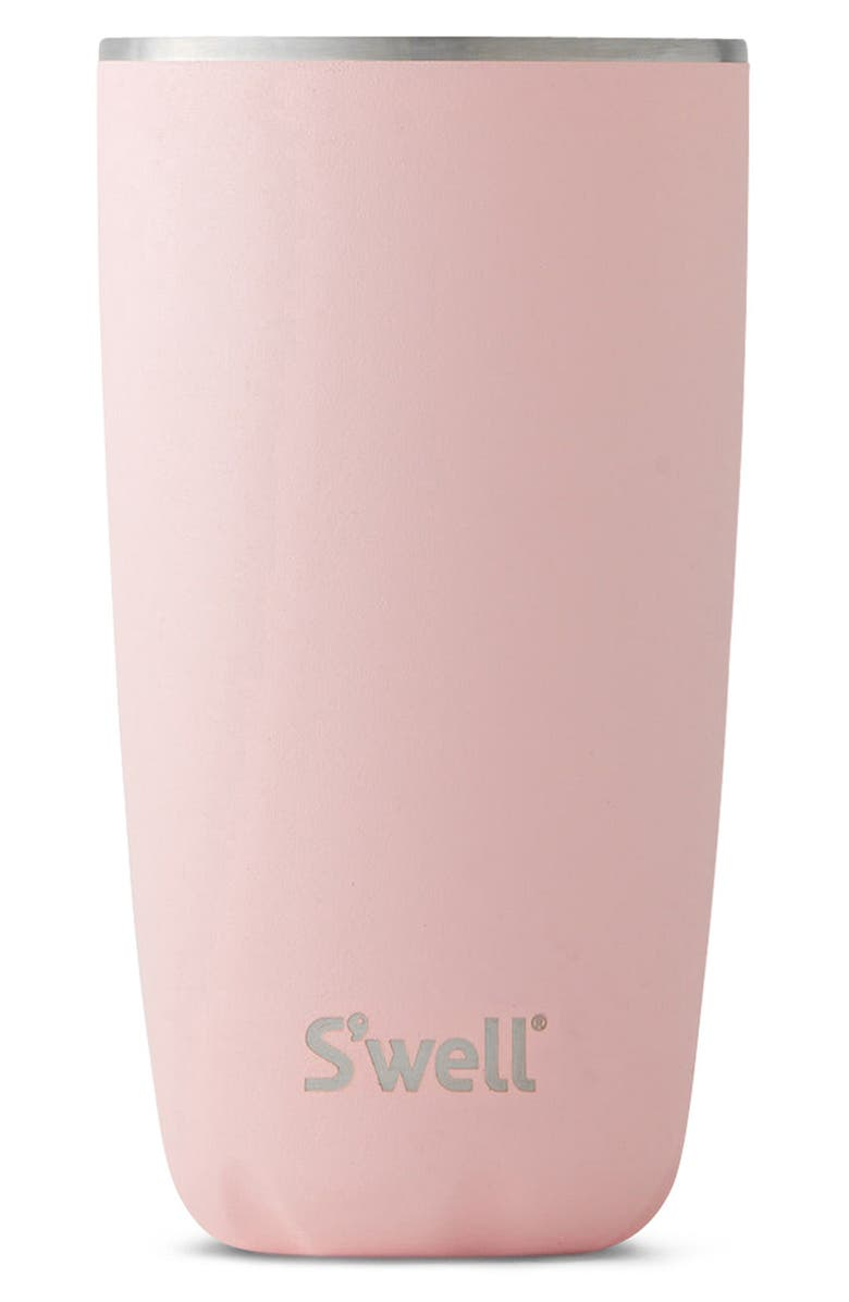 S'WELL Swell Pink Topaz 18-Ounce Insulated Tumbler, Main, color, 654