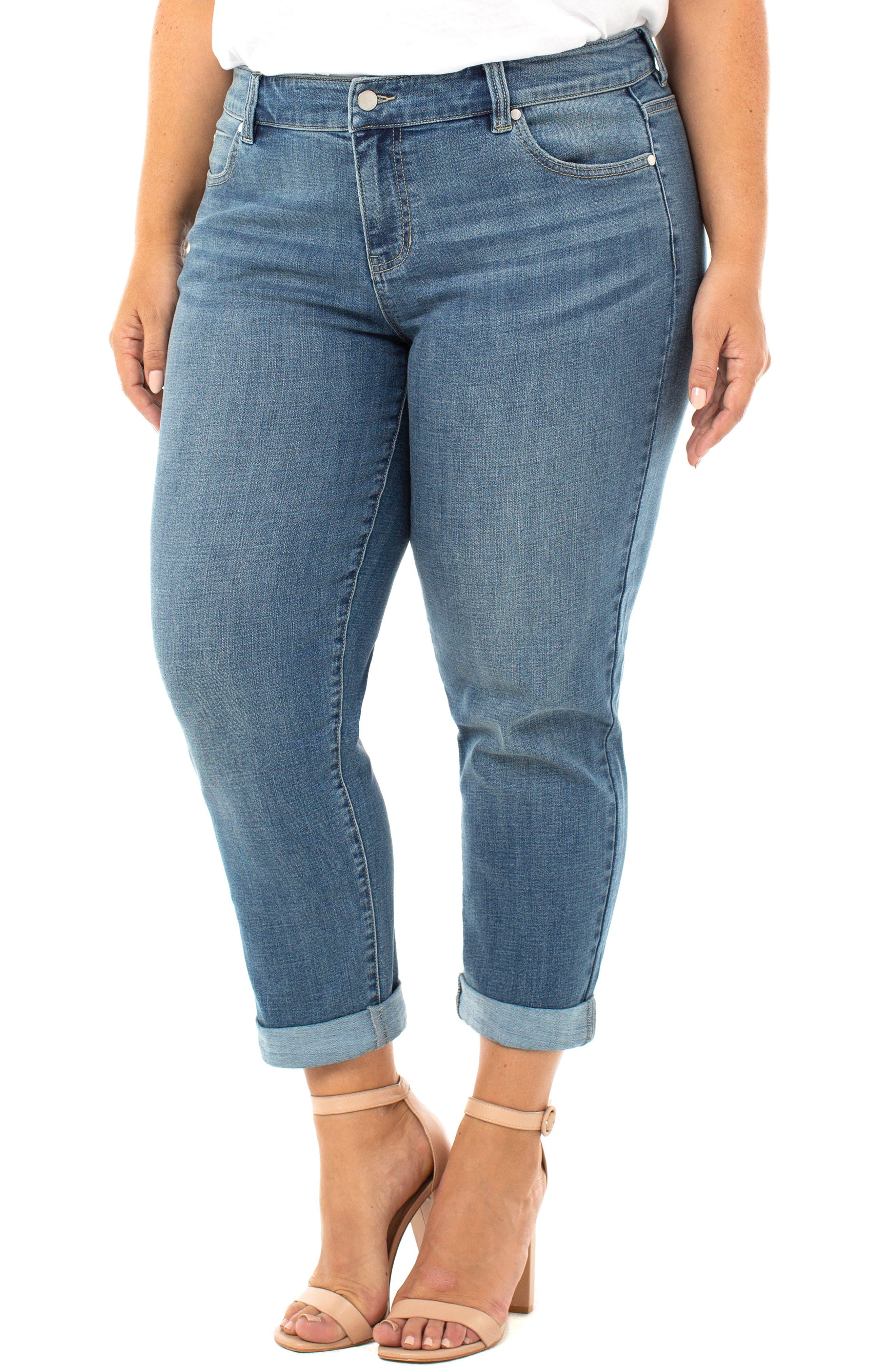 Peyton Slim Boyfriend Jeans
