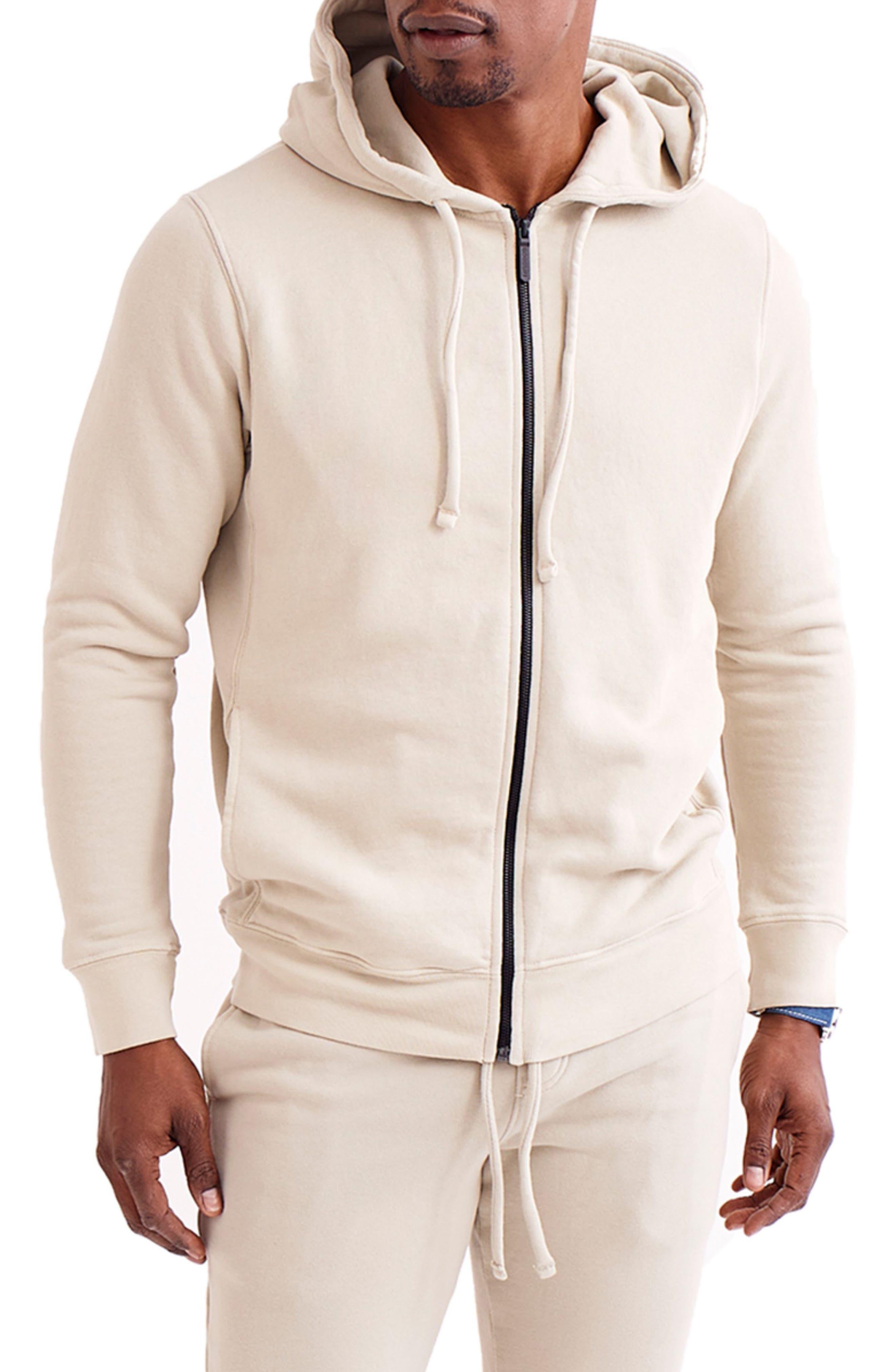 Cotton Terry Men's Zip Hoodie