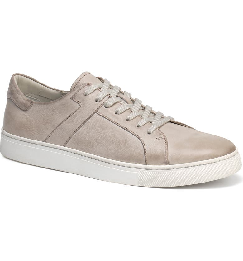 TRASK Aaron Sneaker, Main, color, GREY LEATHER