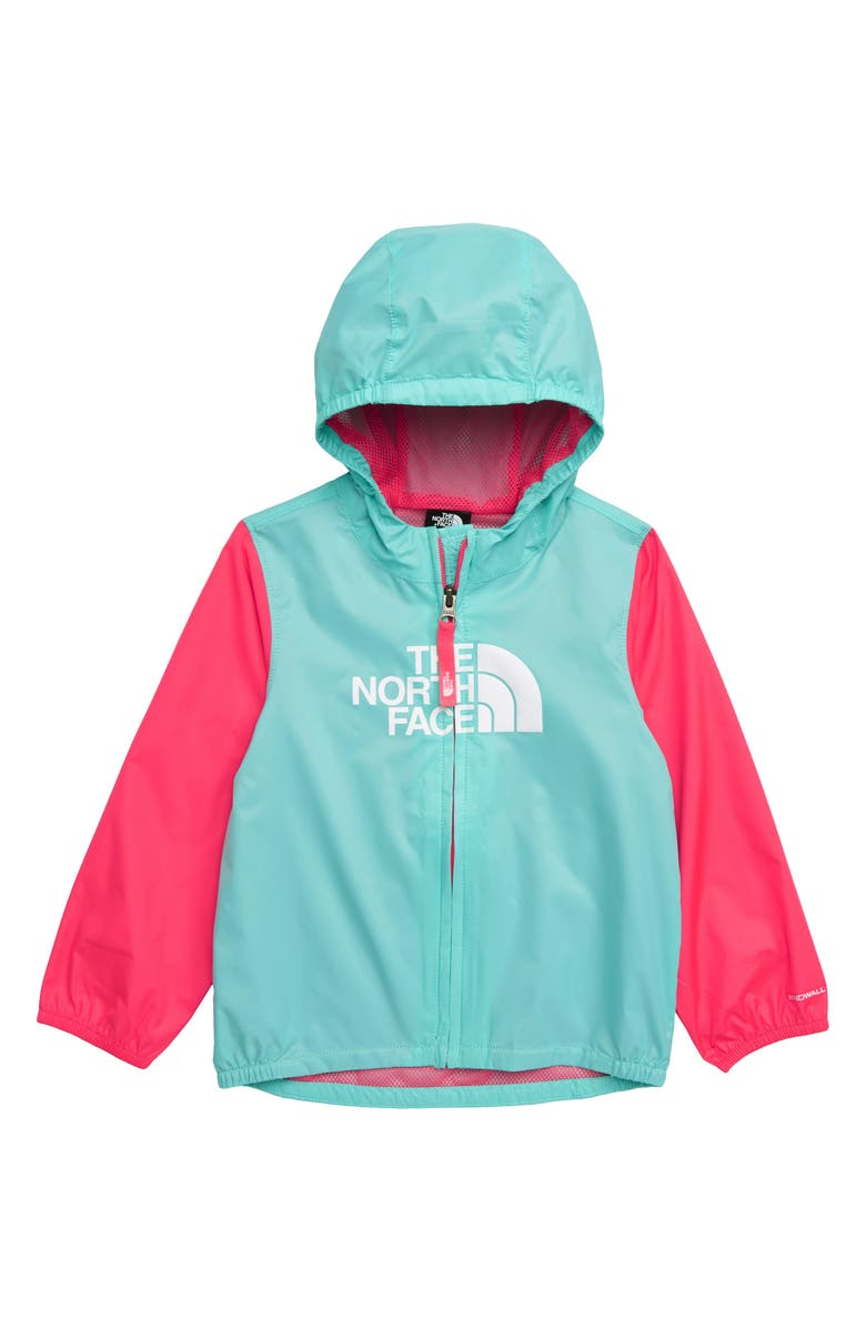 THE NORTH FACE Flurry Hooded Windbreaker, Main, color, 439