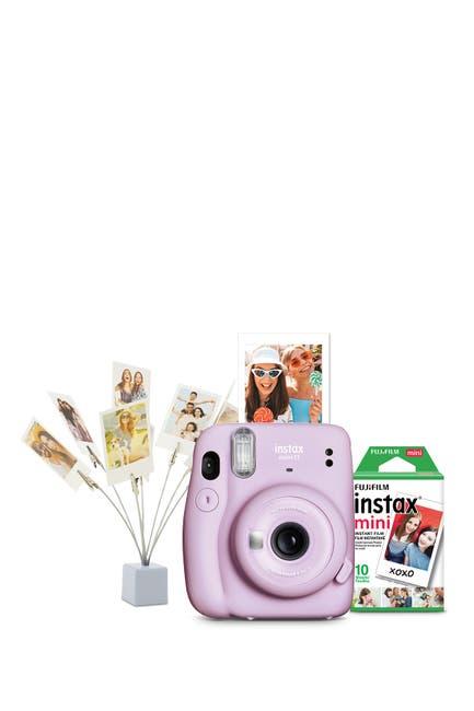 Image of INSTAX MINI BY FUJIFILM Fujifilm Instax Mini 11 Camera Bundle - Lilac Purple