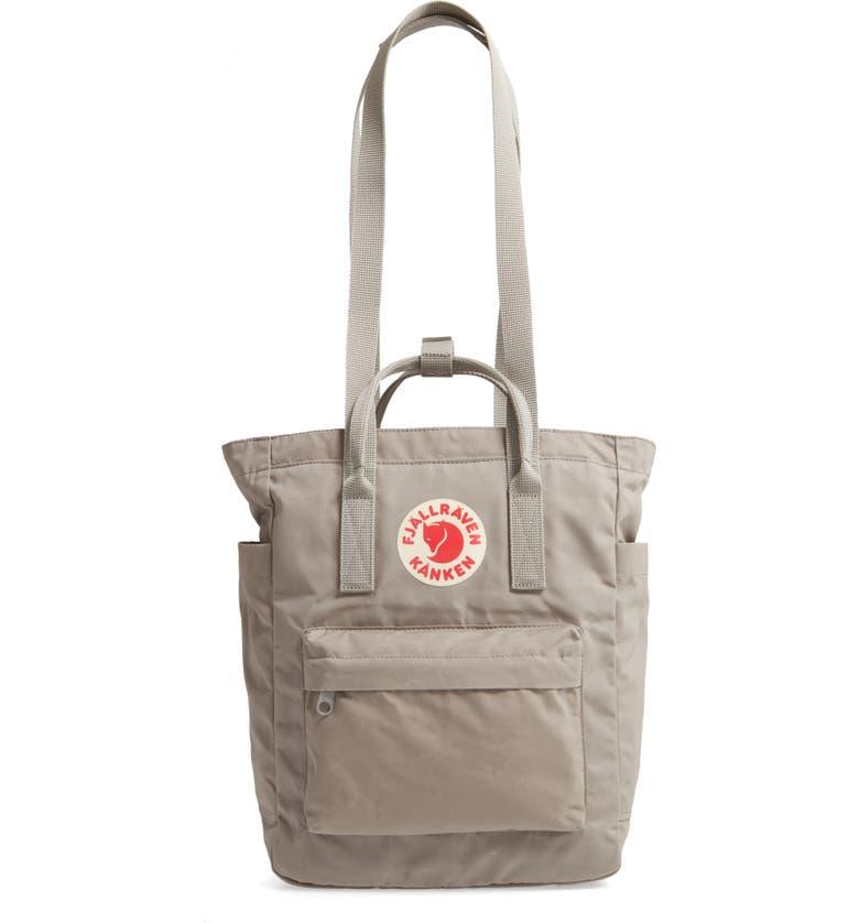 FJÄLLRÄVEN Kånken Tote Backpack, Main, color, FOG