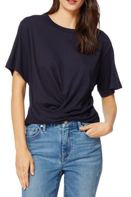 Image of Habitual Back Tie Hem T-Shirt