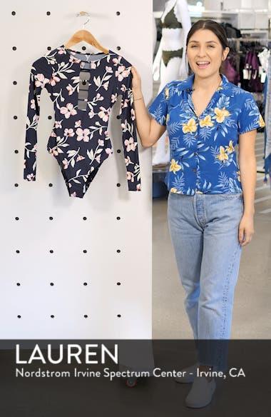 Flow On One-Piece Rashguard Swimsuit, sales video thumbnail