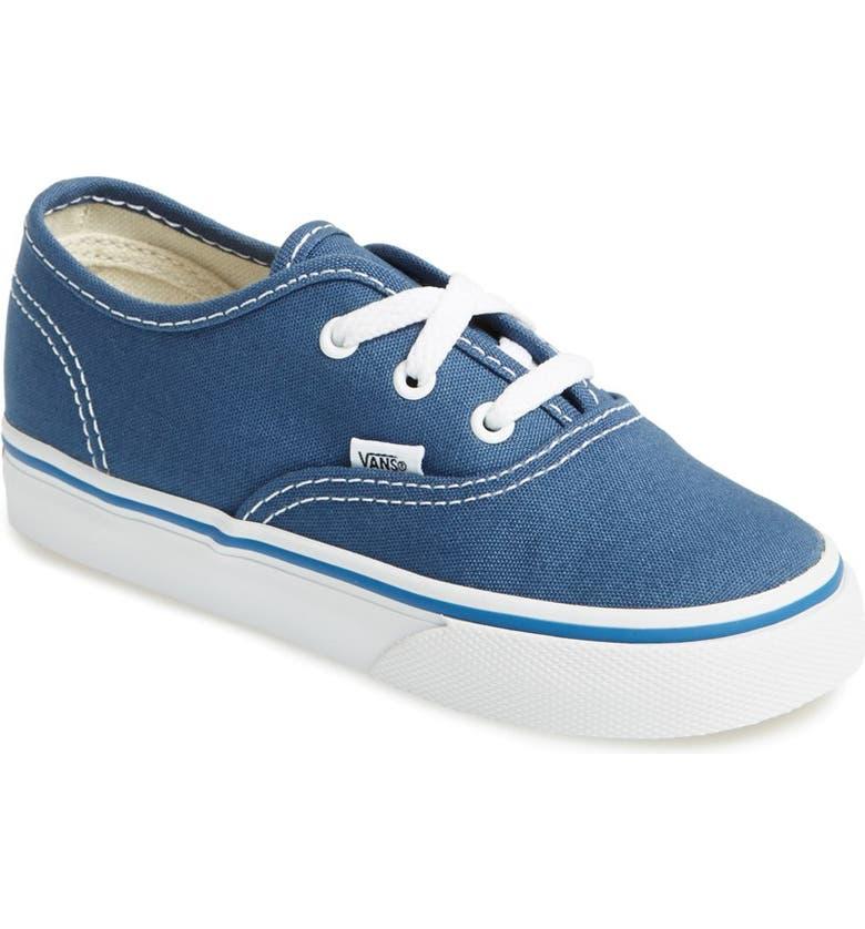 VANS 'Authentic' Sneaker, Main, color, NAVY
