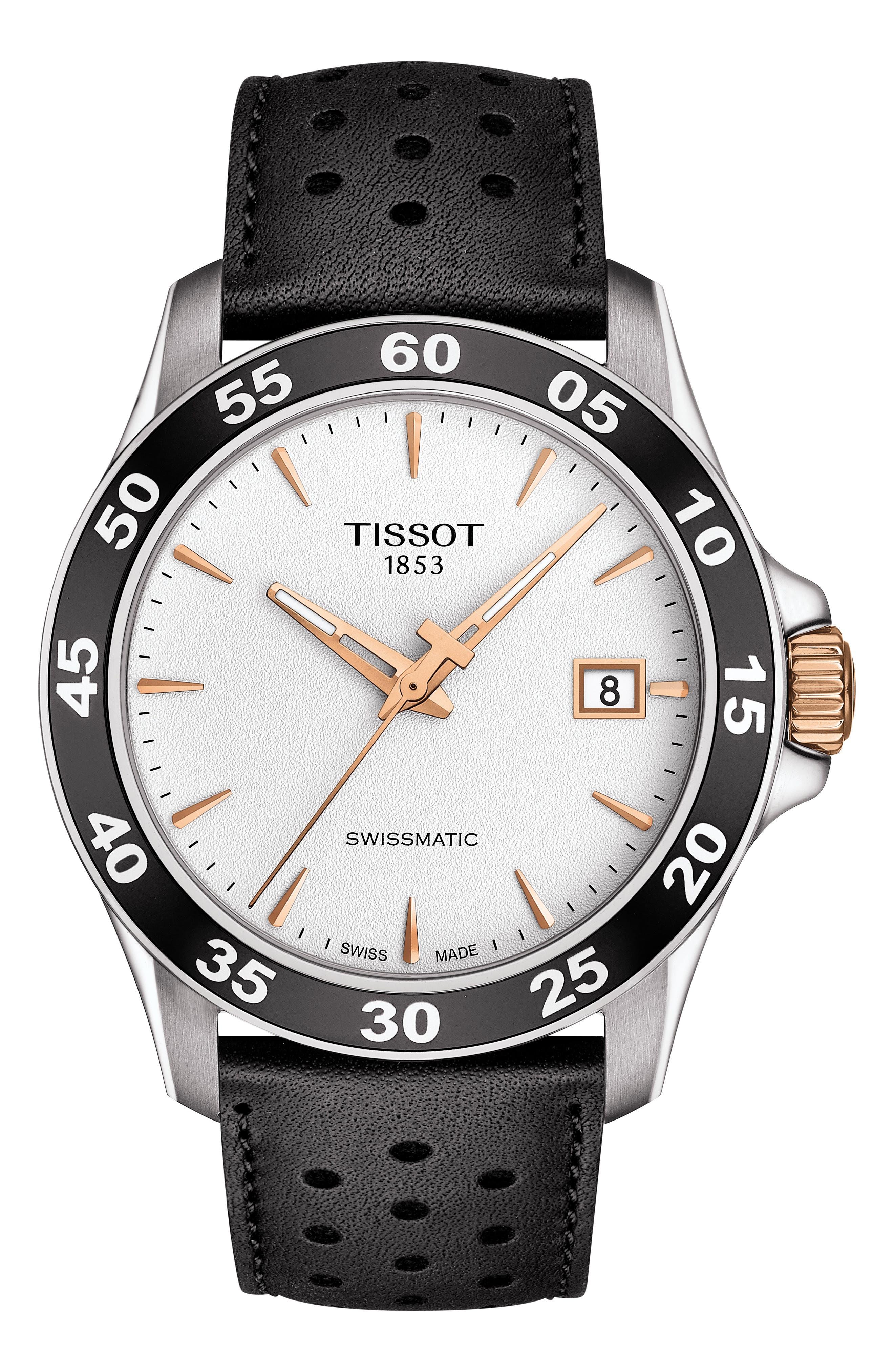Image of Tissot V8 Swissmatic Watch, 42.50mm