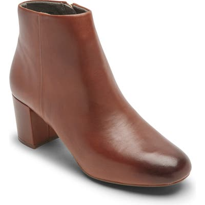 Rockport Total Motion Oaklee Bootie, Brown